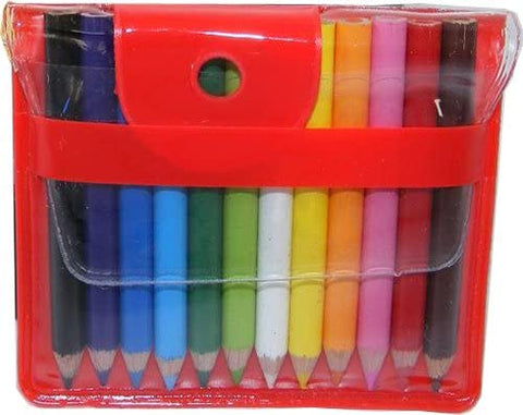 BC Mini 12 Mini Colored Pencils in Handy Pouch