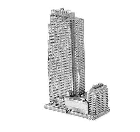 Fascinations Metal Earth 3D Laser Cut Model - 30 Rockefeller Plaza