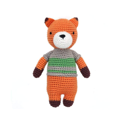 Cheengoo Organic Bamboo Hand Crocheted Mini Doll - Felix the Fox
