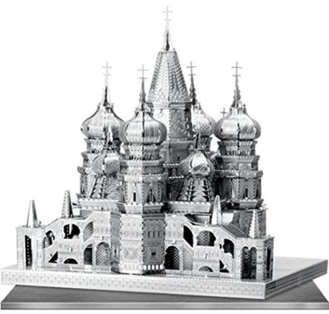 Iconx 3D Metal Model Kit - St. Basil's Cathedral - Two Sheets