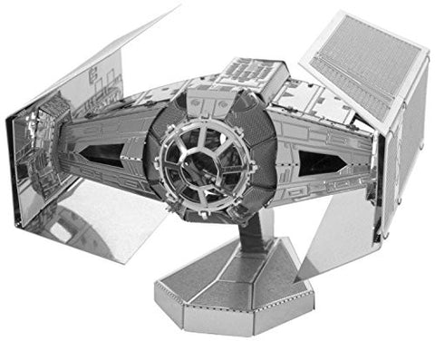 Fascinations Metal Earth 3D Metal Model Kits - Star Wars Darth Vader's Tie Fighter (2 Sheets)