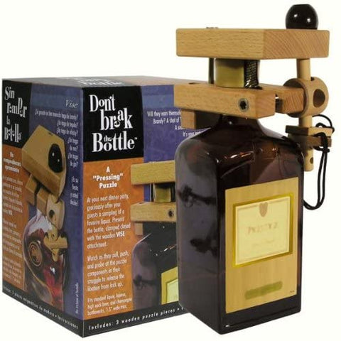 Family Games Don't Break the Bottle Vise Puzzle Gift for Adults