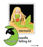 WoolPets Intermediate Needle Felting Kit - Mermaid