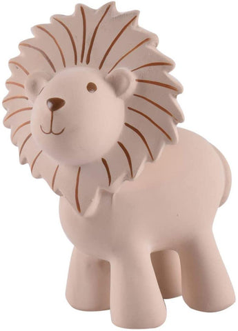 Tikiri Toys My First Safari Zoo Natural Rubber Baby Toy - Lion Rattle