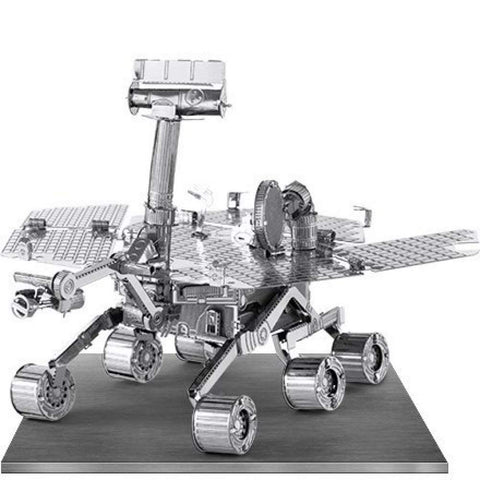 Set of 2 Metal Earth 3D Laser Models: Apollo Lunar Module & Mars Rover