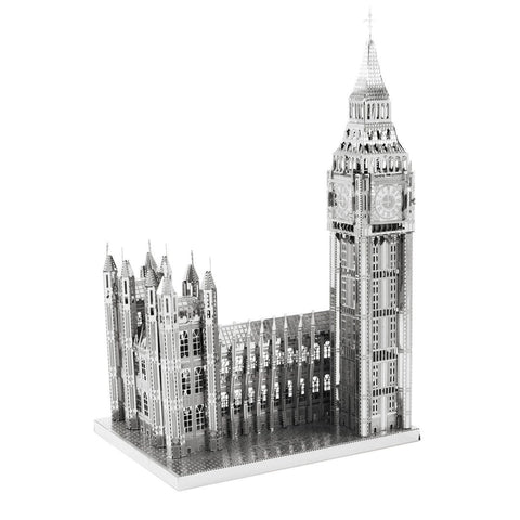 Iconx 3D Metal Model Kit - Big Ben - Two Sheets