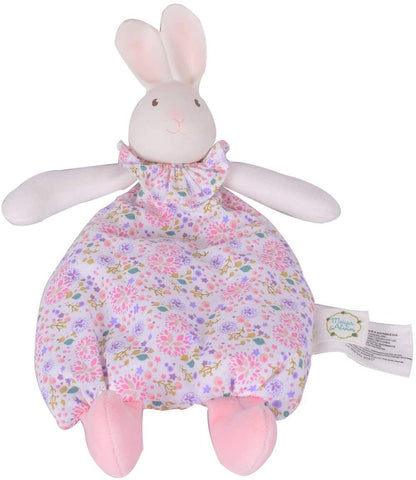 Tikiri Meiya & Alvin Collection Baby Toy - Havah the Bunny Soft Flat Toy with Rubber Head