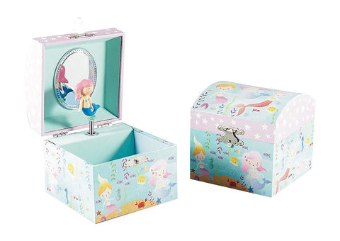 Floss & Rock Small Musical Jewelry Box - Mermaid