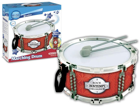 Bontempi Music Academy Marching Drum with Shoulder Strap