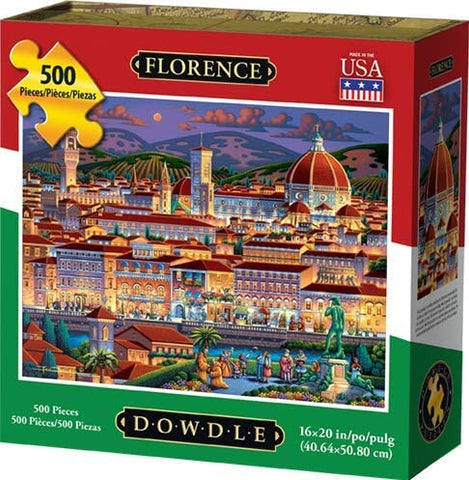 Dowdle Jigsaw Puzzle - Florence, Italy - 500 Piece