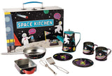 Floss & Rock Space Tin Kitchen in Rectangular Case - 10-Piece Set
