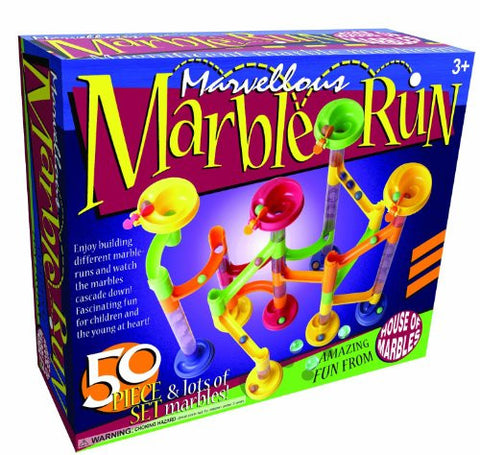 House of Marbles 50-Piece Marble Run