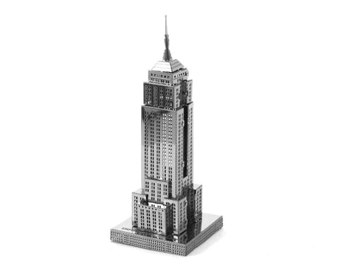 Fascinations ICONX Empire State Building 3D Metal Model Kit