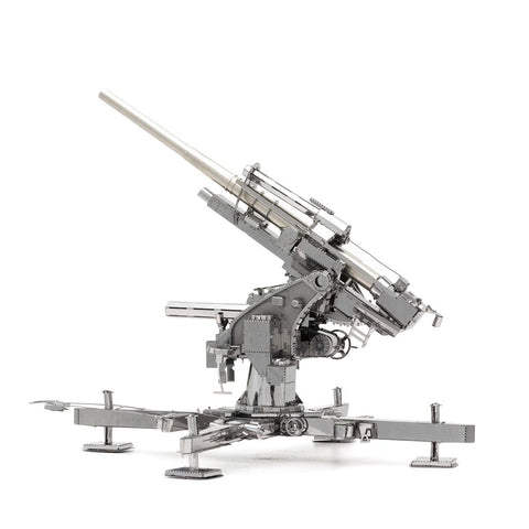 Fascinations ICONX German Flak 88 3D Metal Model Kit