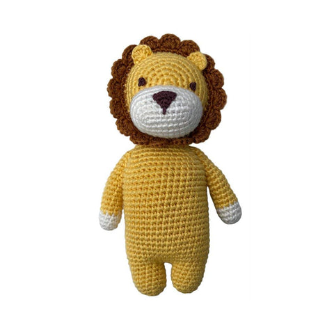 Cheengoo Organic Bamboo Hand Crocheted Mini Doll - Leon the Lion