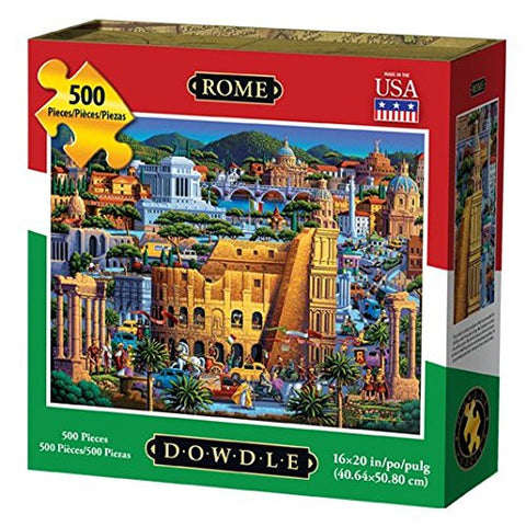 Rome 500 Piece Puzzle by Dowdle Folk Art