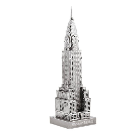 Iconx 3D Metal Model Kit - Chrysler Building - One Sheet
