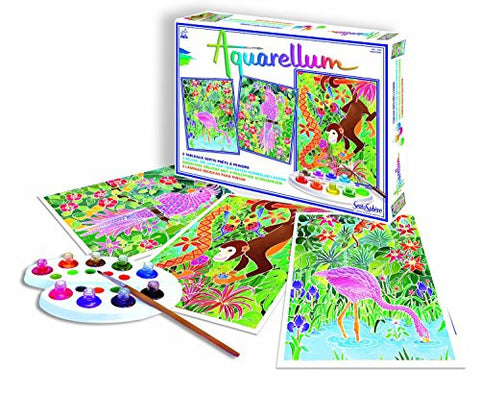 Sentosphere Aquarellum Magic Pictures - Amazon Animals