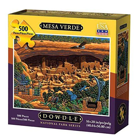 Mesa Verde National Park 500 Piece Puzzle by Dowdle Folk Art