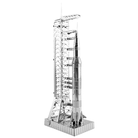 Fascinations Metal Earth 3D Laser Cut Model - Apollo Saturn V with Gantry