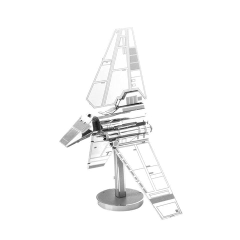 Fascinations Metal Earth Star Wars Imperial Shuttle 3D Metal Model Kit