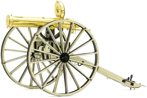 Fascinations Metal Earth 3D Laser Cut Model - Wild West Gatling Gun