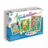 SentoSphere Aquarellum Watercolor Paint Set - Jungle