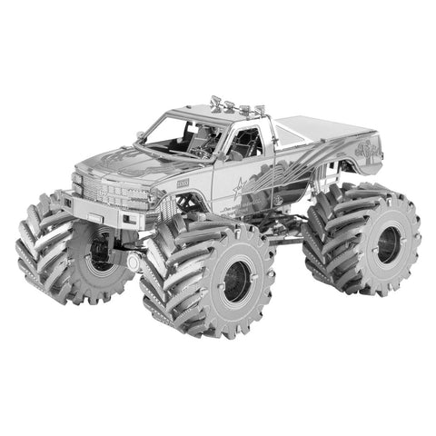Fascinations Metal Earth Monster Truck 3D Metal Model Kit