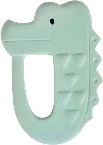Tikiri My First Safari Natural Rubber Teether - Crocodile