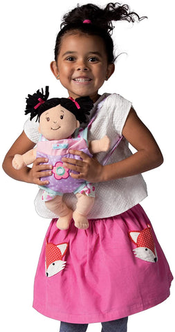 "Manhattan Toy Baby Stella Snuggle Up Front Carrier Baby Doll Accessory for 12"" and 15"" Soft Dolls"
