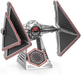 Fascinations Metal Earth Star Wars Rise of Skywalker Sith Tie Fighter 3D Metal Model Kit