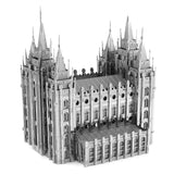 Metal Earth ICONX Salt Lake City Temple 3D Metal Model Kit