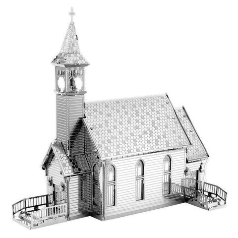 Metal Earth 3D Laser Cut Model - The Old Country Church