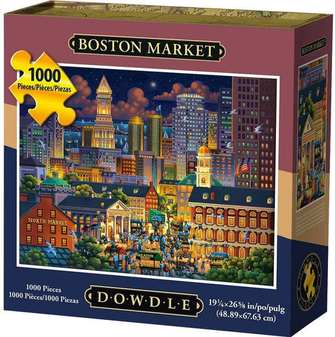 Dowdle Jigsaw Puzzle - Boston Market - 1000 Piece