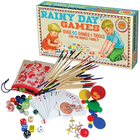 House of Marbles Retro Rainy Day Games - Over 40 Games & Tricks for the Whole Family