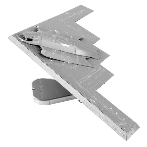 Fascinations Metal Earth ICONX - B-2A Spirit Stealth Bomber - 3D Metal Model Kit