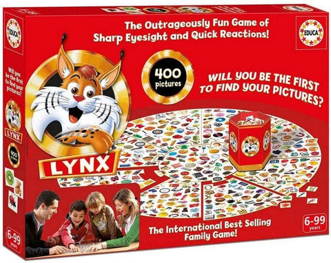 Educa Children's The Lynx 400 Board Game