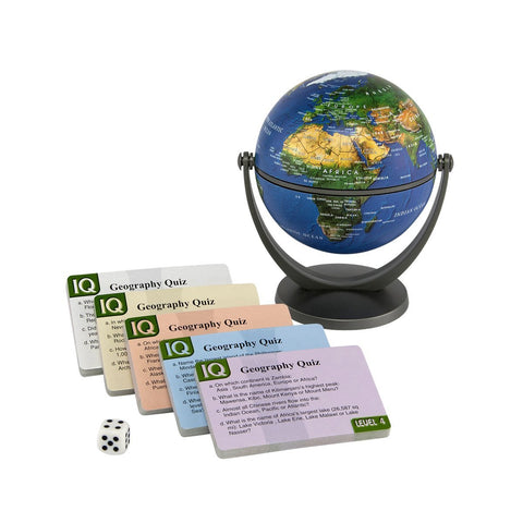 Stellanova IQ Physical Earth Quiz Globe Game
