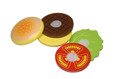 Build A Burger - Wooden Pretend Food