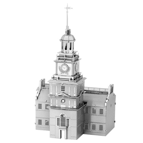 Fascinations Metal Earth 3D Laser Cut Model - Independence Hall