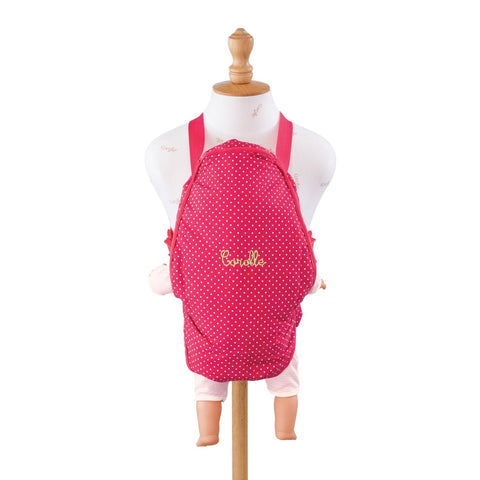 "Corolle Mon Classique Cherry Baby Sling for 14"" - 17"" Dolls"