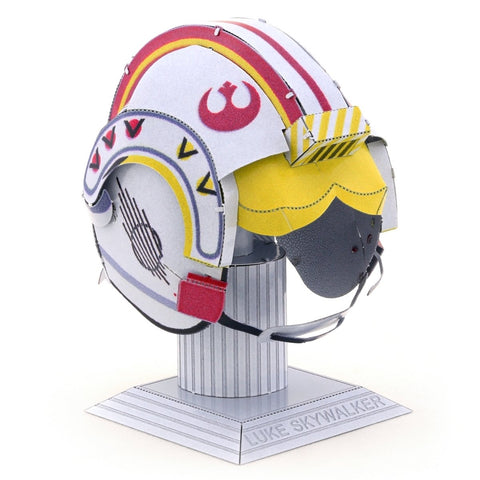 Fascinations Metal Earth Star Wars Luke Skywalker Helmet 3D Metal Model Kit