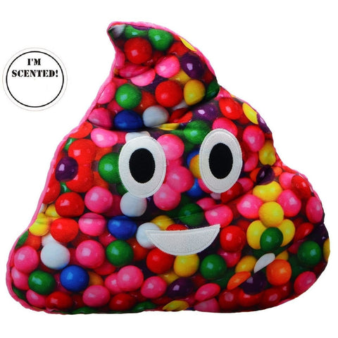 Emojicon Gumball Scented Poop Pillow