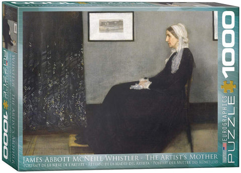 EuroGraphics 1000 Piece Jigsaw Puzzle - The Artist's Mother by James Abbott McNeill Whistler