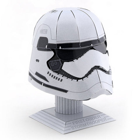 Fascinations Metal Earth First Order Stormtrooper Helmet 3D Metal Model Kit