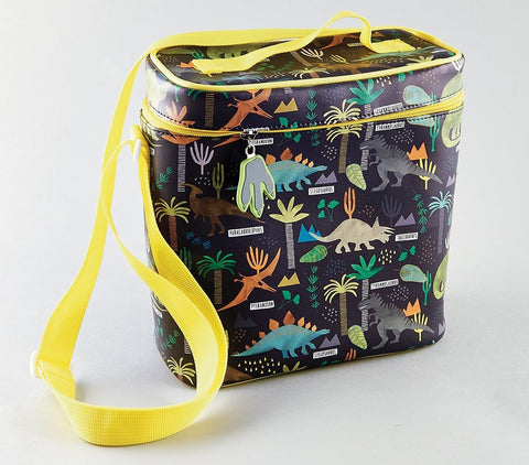 Floss & Rock Lunch Bag with Detatchable Strap - Dinosaur