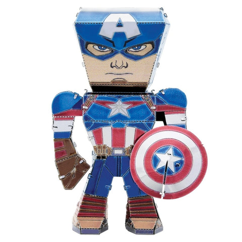 Metal Earth 3D Metal Model Kit - Marvel Captain America