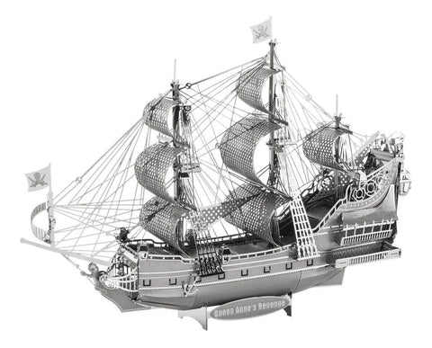 Iconx 3D Metal Model Kit - Queen Anne's Revenge - Two Sheets