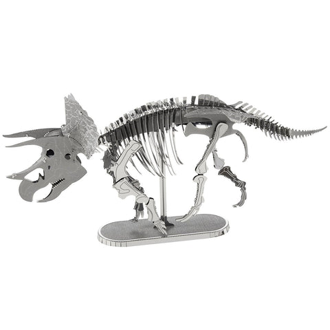 Fascinations Metal Earth 3D Laser Cut Model - Triceratops