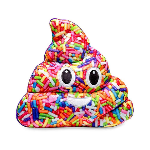 Emojicon Sprinkle Poop Pillow - Vanilla Scented